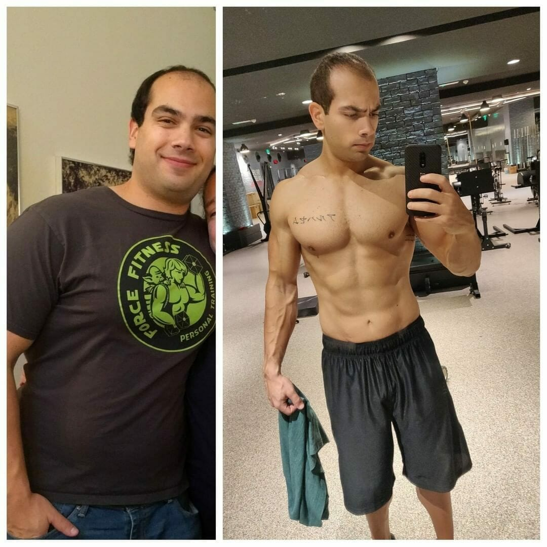 Jaime Alnassim before and after